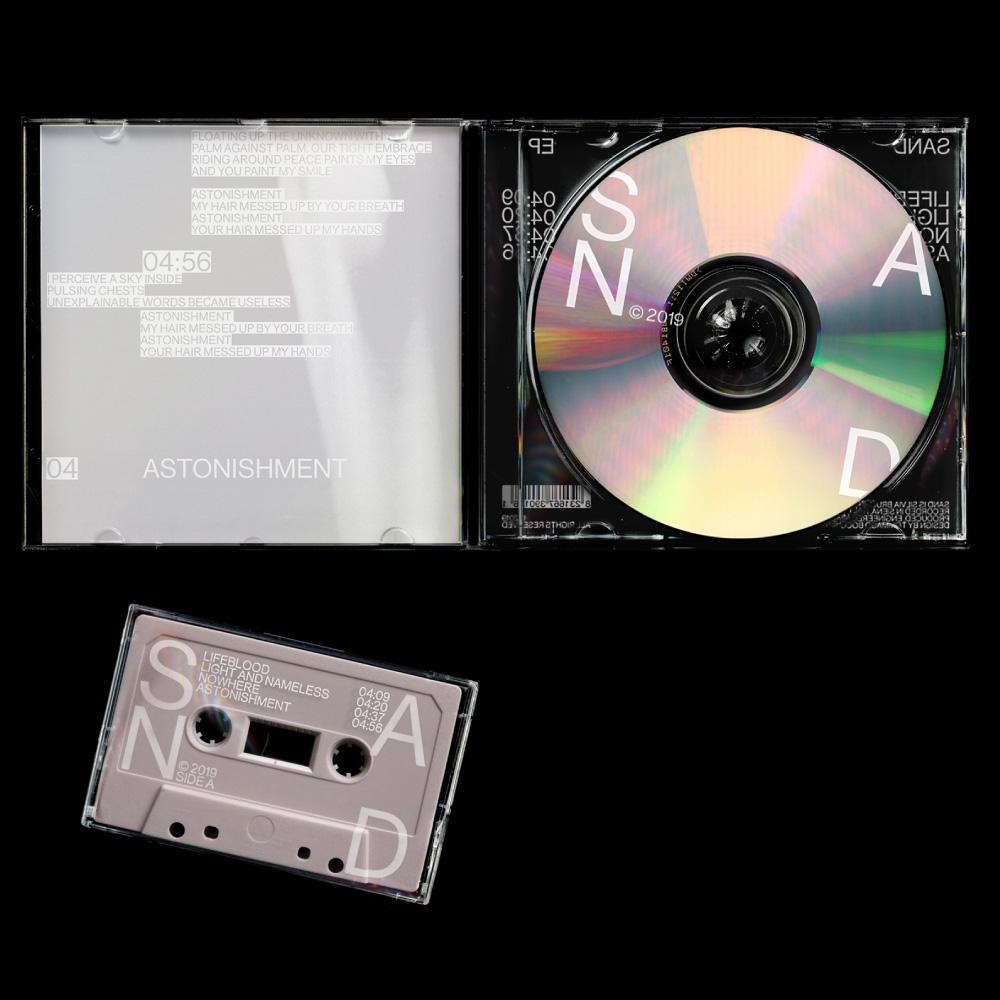 sand - cd + cassette