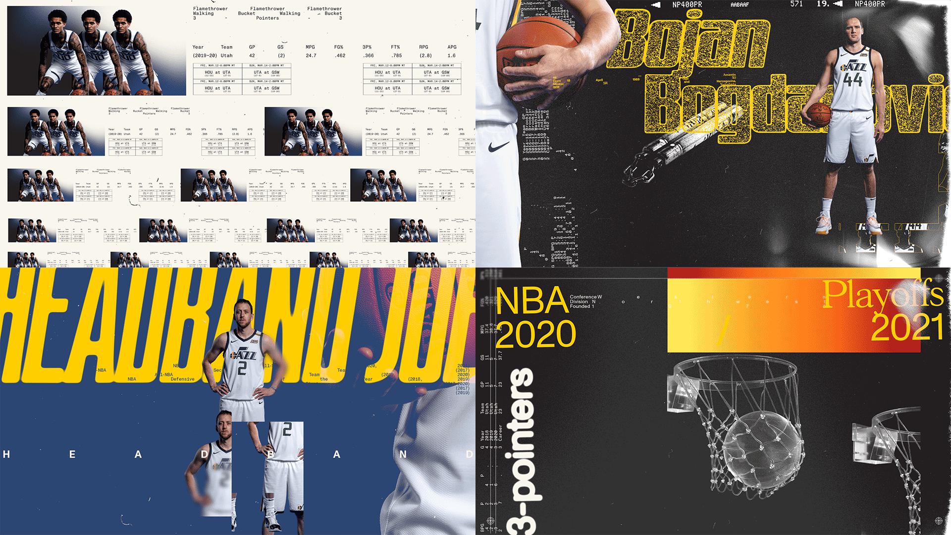 Utah Jazz Styleframes